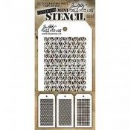 MTHS027 Stampers Anonymous Tim Holtz Layering Stencil - Mini Stencil Set #27